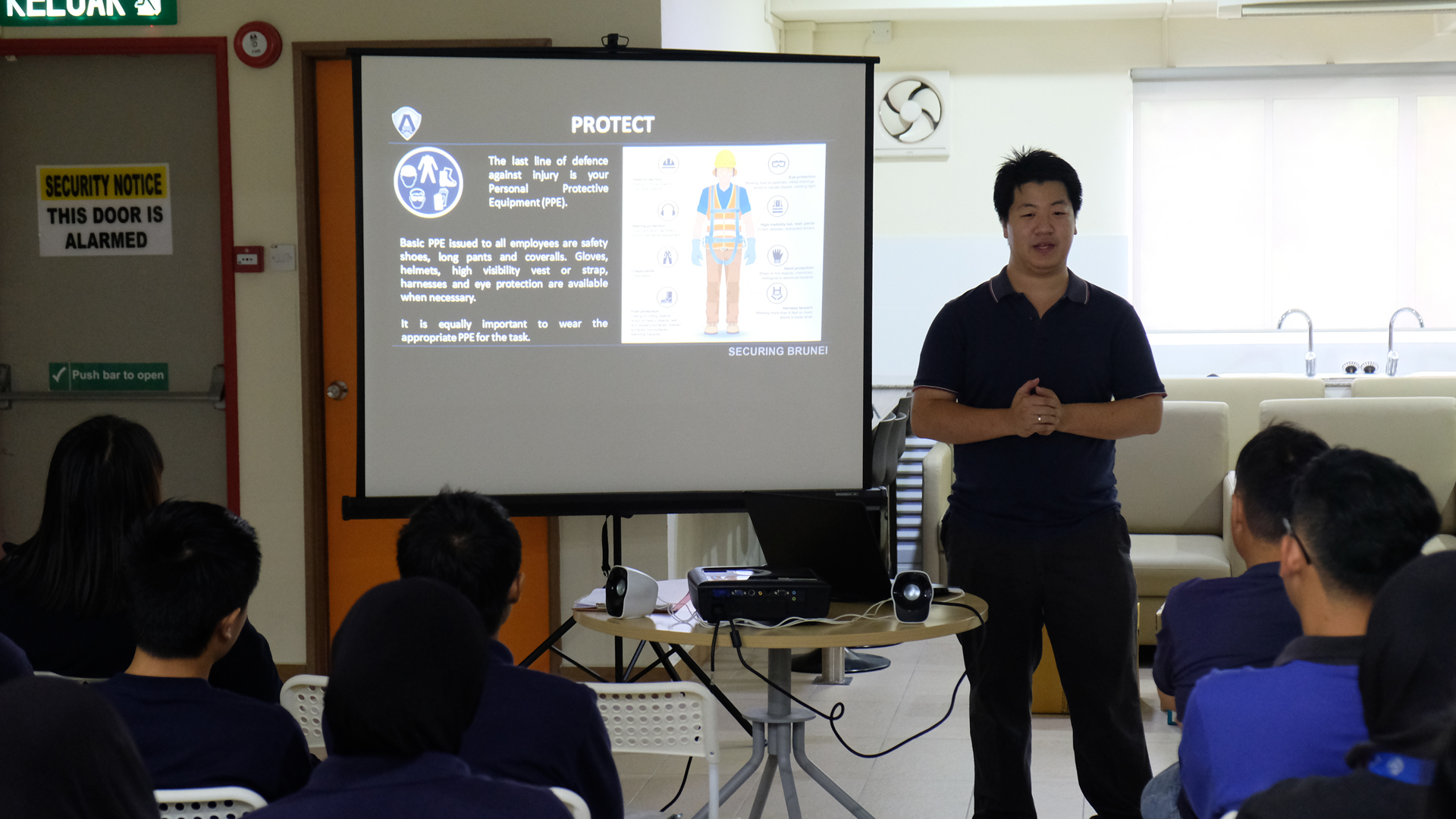 Annual HSE Awareness Briefing for Staff - AEGIS Group Brunei